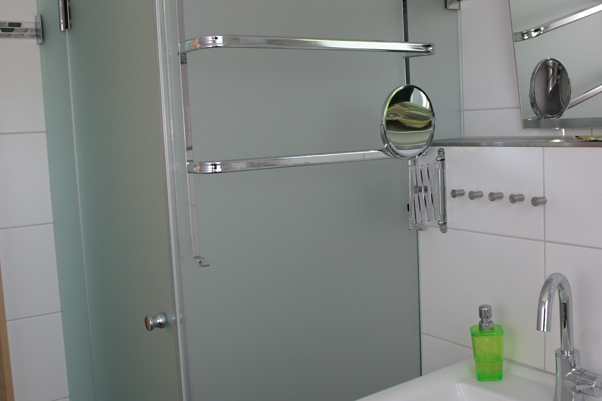 Ferienwohnung Lemberger Badezimmer