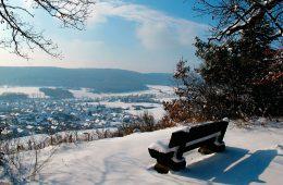 Gündelbach im Winter