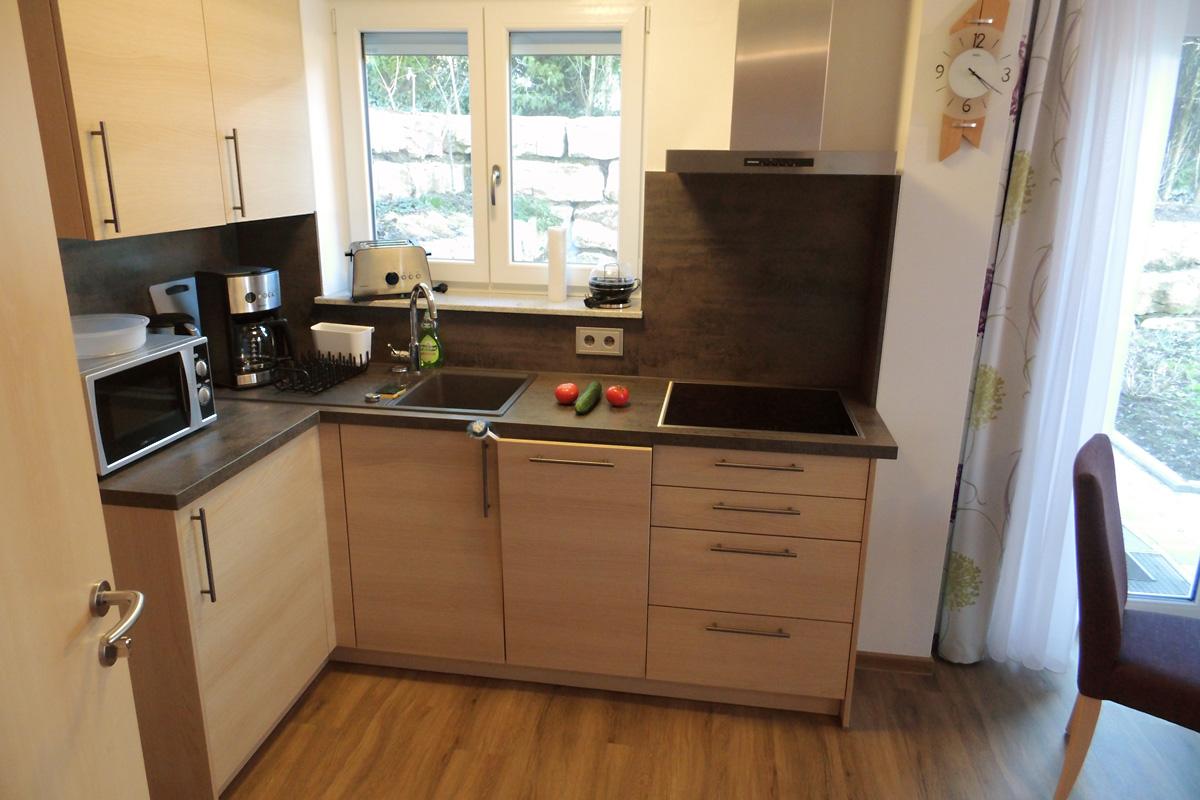 Doppelzimmer Spätburgunder Küche