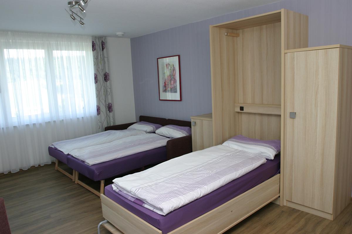 Doppelzimmer Spätburgunder Schlafen